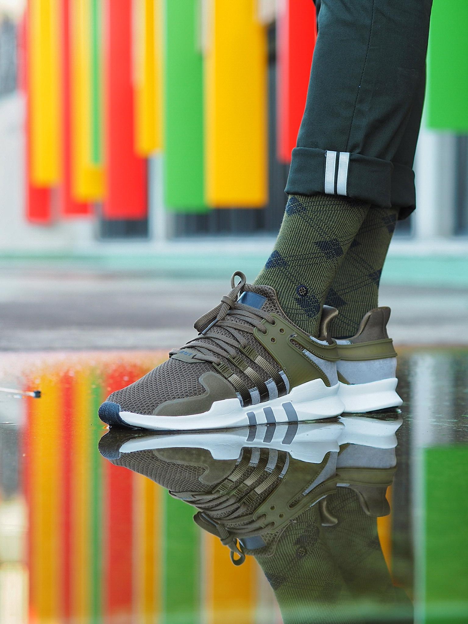 Exclusif Kaki Adidas » Courir Originals Eqt Adv Support « nwkOP8X0