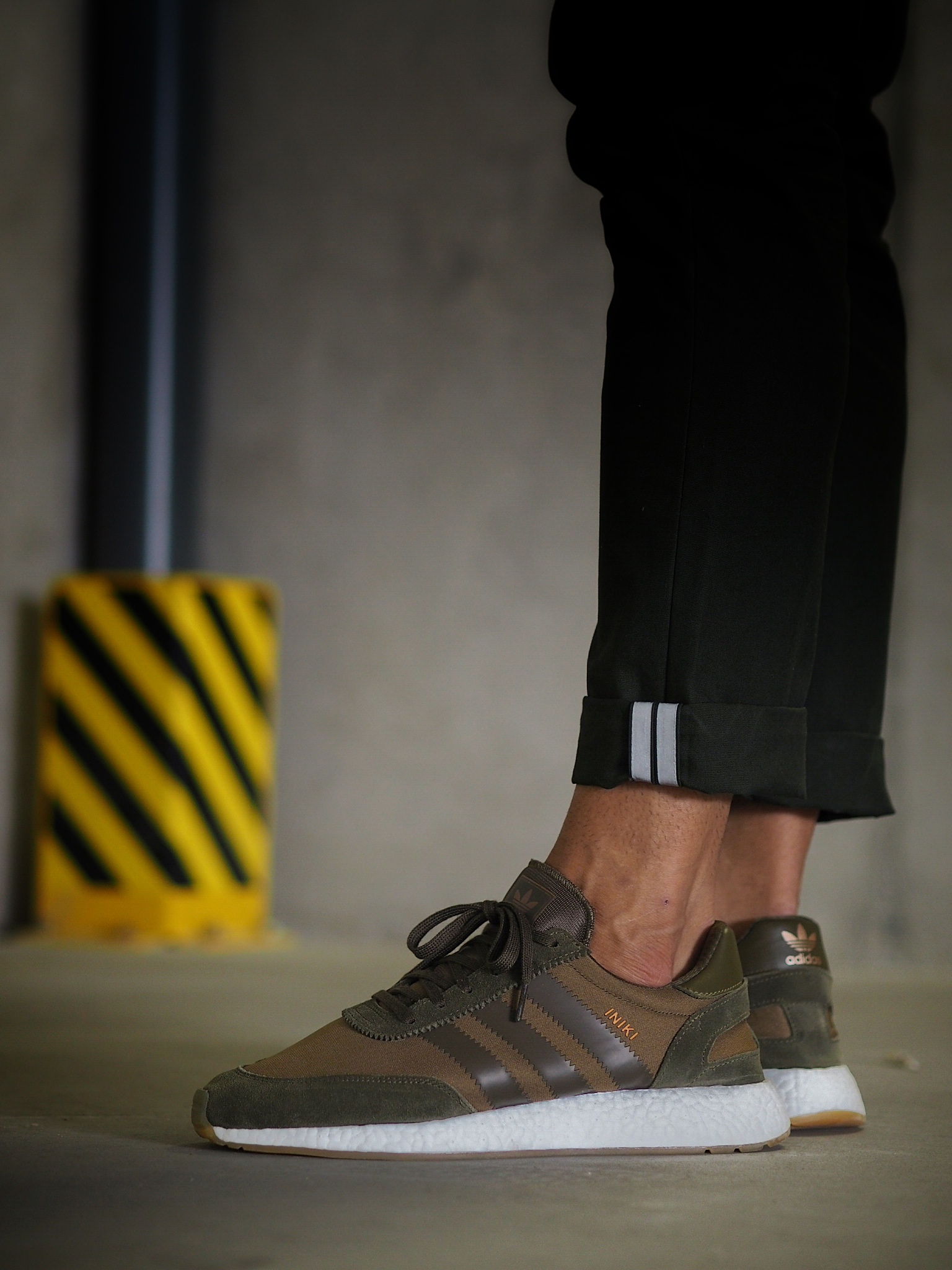 adidas iniki femme kaki
