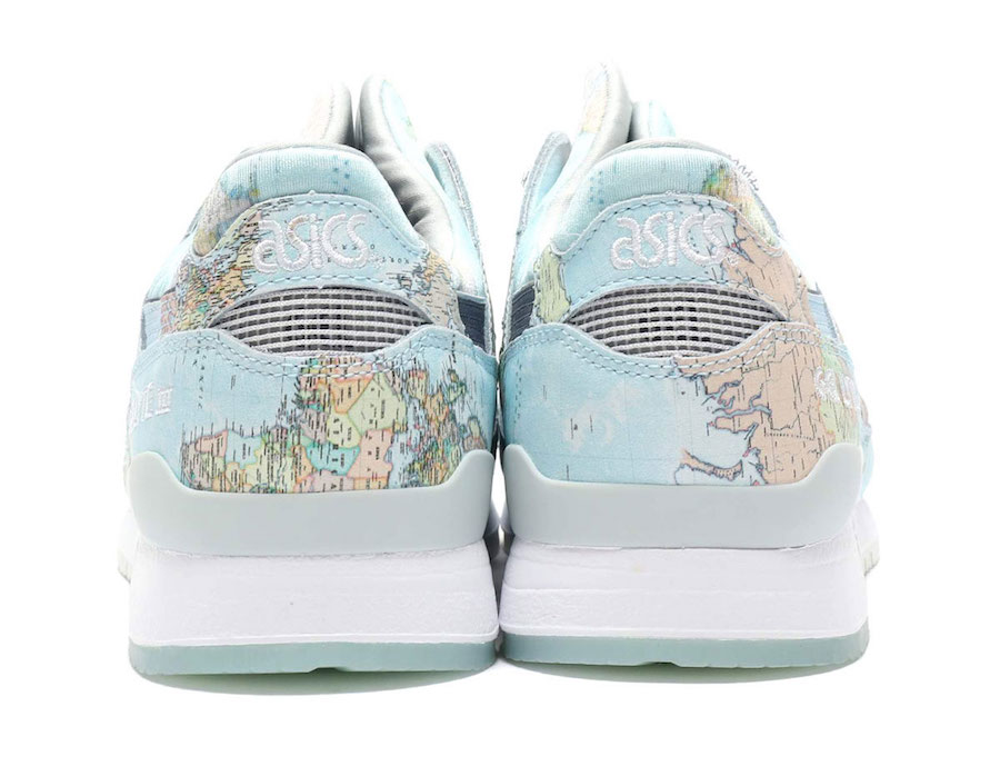 Map Bisso « Asics Iii Lyte – World » Gel Selecta Exclusive Atmos j543LRA